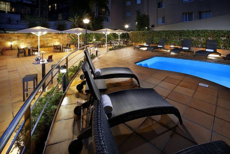 hcc montblanc hotel barcelona