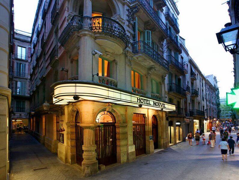 hotel nouvel barcelona