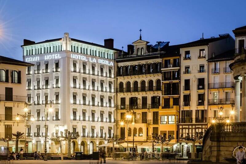 la perla grand hotel pamplona