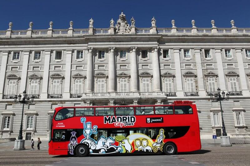 madrid hop on off tour