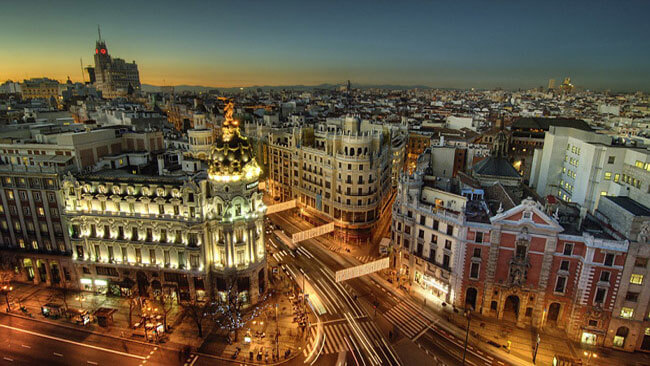 madrid travel package city escape