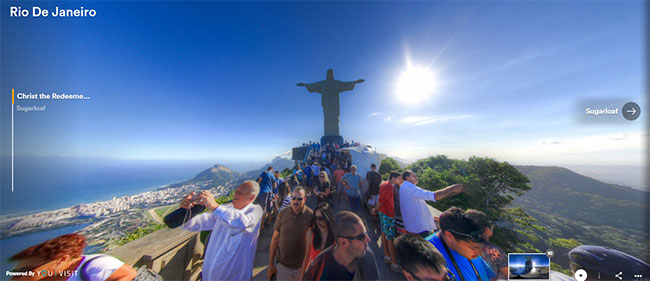 rio virtual tour