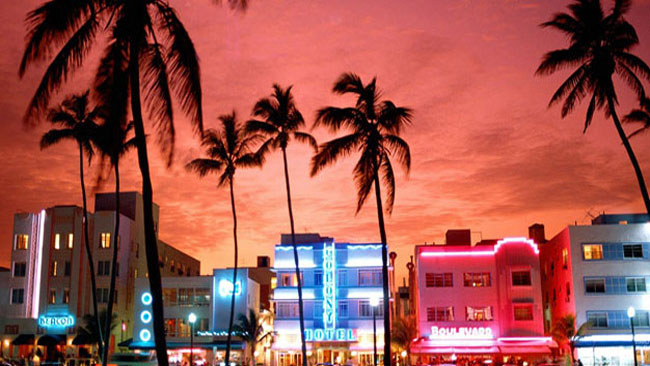 south beach travel package