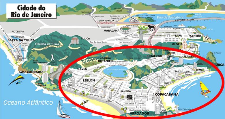 rio de janeiro guide - south zone