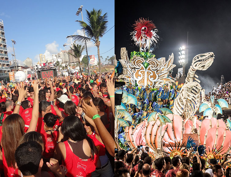 ultimate brazil carnival package