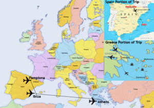 ultimate euro party tour itinerary