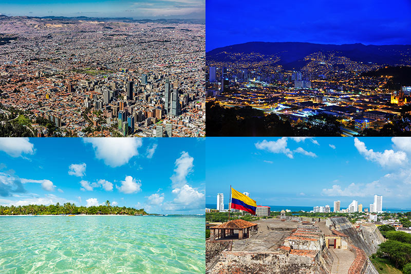 best of colombia travel package