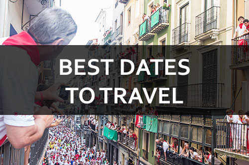best dates to travel