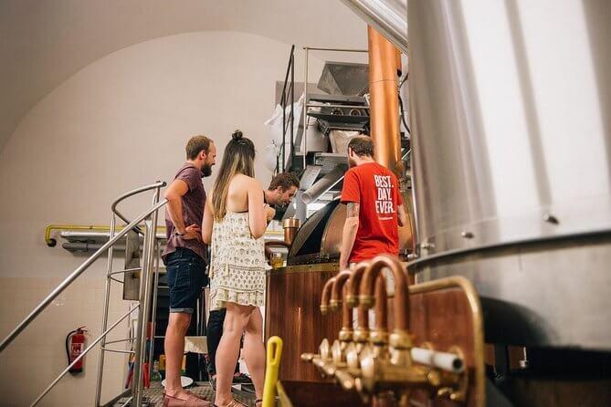 Prague Beer Tasting and Tapas Tour