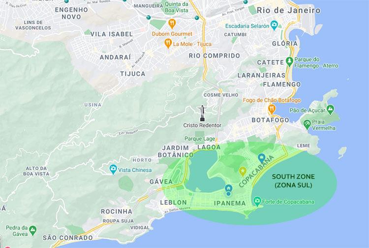 is rio de janeiro safe zona sul