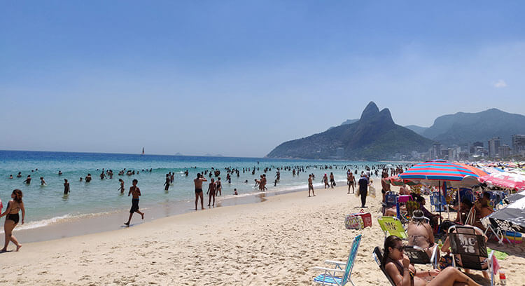 best time to visit rio - summer