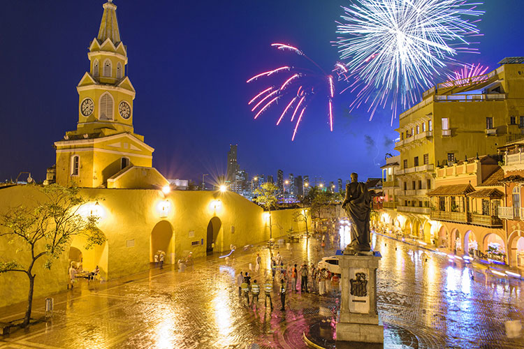 best time to travel to cartagena new years eve