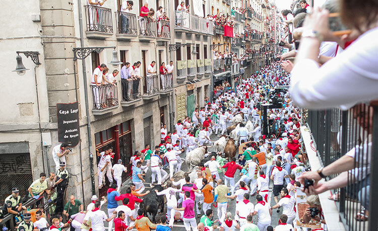 one of the greatest festivals on earth - san fermin