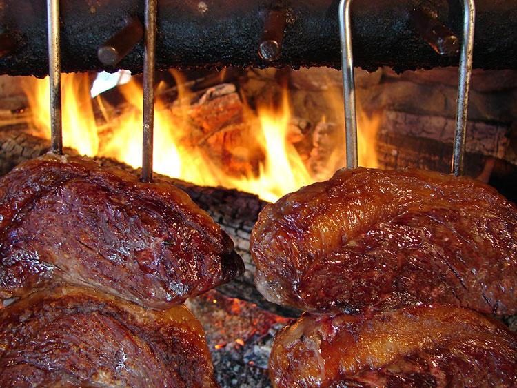 traditional brazilian food - churrasco