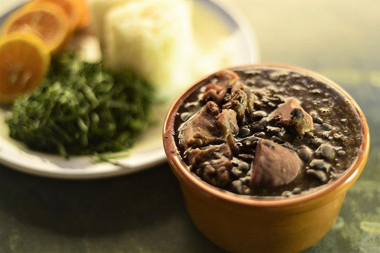 traditional brazilian food - feijoada