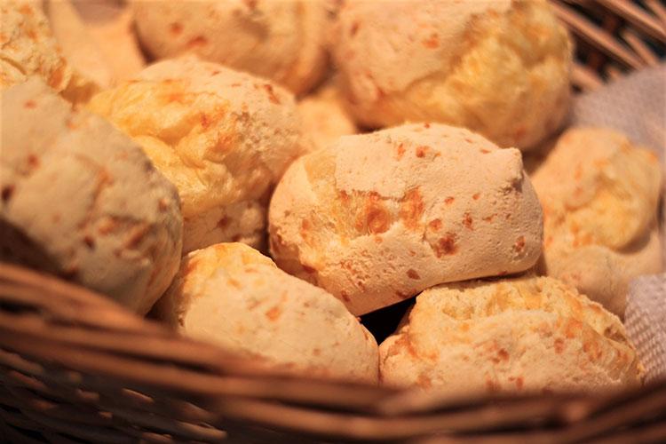 popular brazilian food - pao de queijo