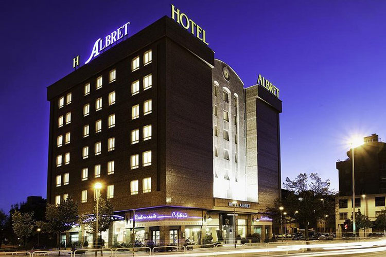 where to stay in pamplona - hotel albret